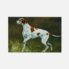 English Pointer Rectangle Magnet
