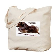 """Nothing Like a Sheltie"" Tote Bag"