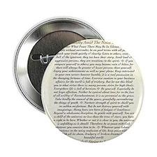 "DESIDERATA Wallpaper 2.25"" Button"
