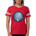 4-treecircle_blue.png Womens Football Shirt