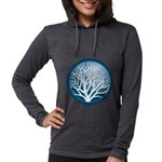 4-treecircle_blue.png Womens Hooded Shirt