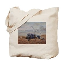 Saluki in the Desert Tote Bag