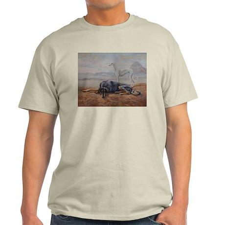 Saluki in the Desert Light T-Shirt