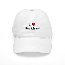 I Love Beckham Baseball Cap