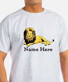 Personalized Lion T-Shirt