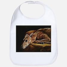 Greyhound Resting Bib