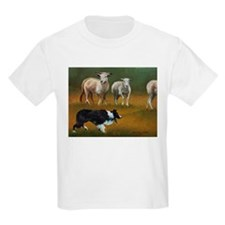 Border Collie and Sheep T-Shirt