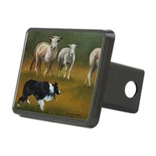 Border Collie and Sheep Hitch Cover