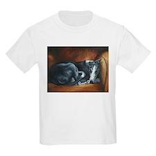 Whippet on Chair T-Shirt