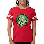 treecircle_green.png Womens Football Shirt
