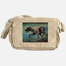 German Shorthaired Pointer Messenger Bag