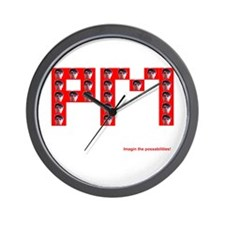 P murph Wall Clock