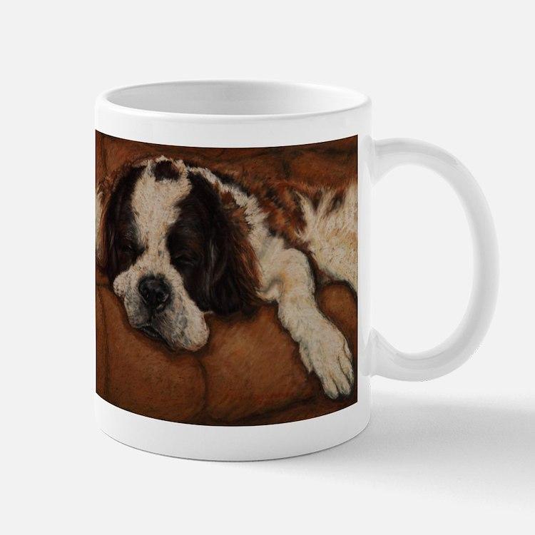 Saint Bernard Sleeping Mug