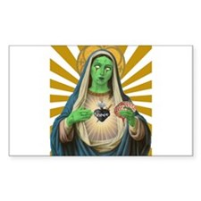 Virgin Mary Zombie Decal