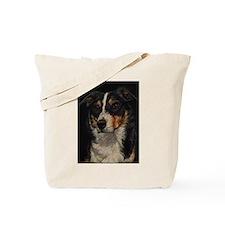 Border Collie Portrait Tote Bag