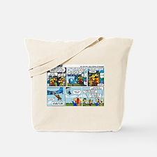 2L0102 - Chucks birthday jump Tote Bag
