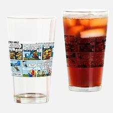 2L0102 - Chucks birthday jump Drinking Glass