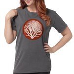 treecircle_red.png Womens Comfort Colors Shirt