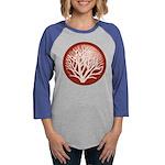 treecircle_red.png Womens Baseball Tee
