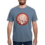 treecircle_red.png Mens Comfort Colors Shirt