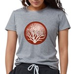 treecircle_red.png Womens Tri-blend T-Shirt