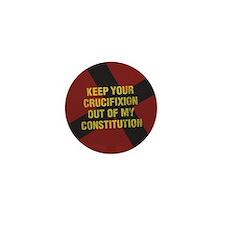 Keep Your Crucifixion Mini Button