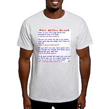 Real SCAdian Heroes Ash Grey T-Shirt