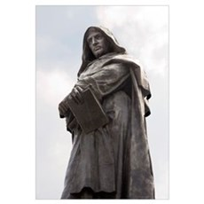 Giordano Bruno, Italian philosopher Poster