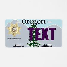 Oregon Deputy Sheriff Custom License Plate