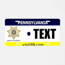 Pennsylvania Deputy Sheriff Custom License Plate