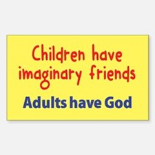 Children Have Imaginary Friends Decal