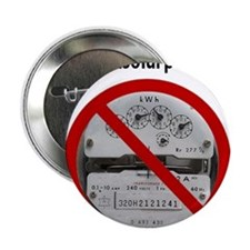 "Just Say No to Electric Meters 2.25"" Button"