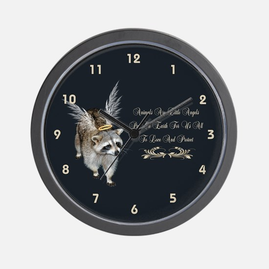 Animals Are Little Angels Wall Clock