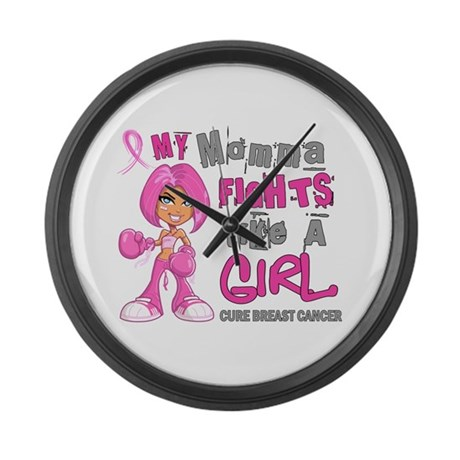 Licensed Fight Like A Girl 42.9 B Large Wall Clock