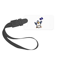 Kansas Penguin Luggage Tag