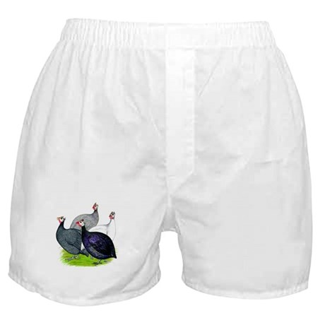 Four Guineafowl Boxer Shorts