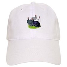 Four Guineafowl Baseball Cap