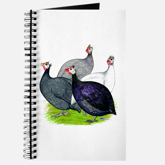 Four Guineafowl Journal
