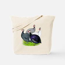 Four Guineafowl Tote Bag