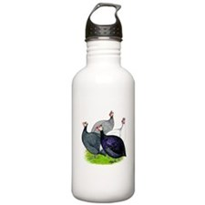 Four Guineafowl Water Bottle