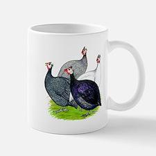 Four Guineafowl Small Small Mug