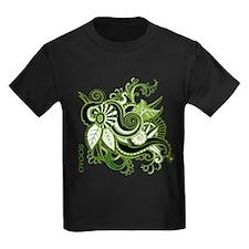 OYOOS Green Flower design T