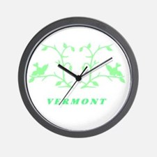 Vermont Green  Wall Clock