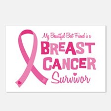 Breast Cancer Best Friend Postcards (Package of 8)
