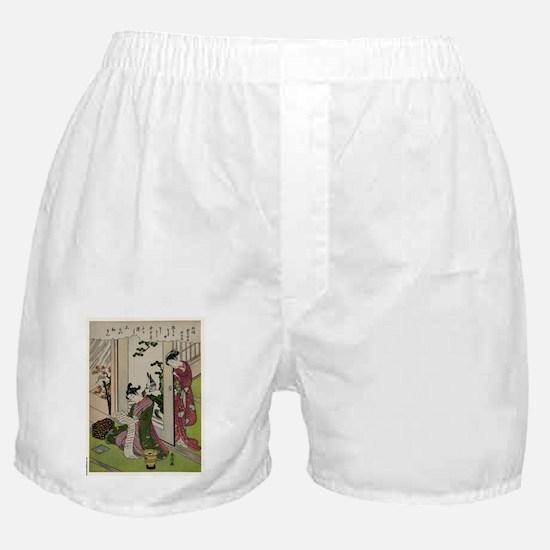 November - Harunobu Suzuki - 1770 Boxer Shorts