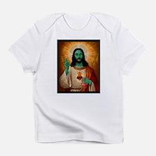 Zombie Jesus Loves Brains Infant T-Shirt