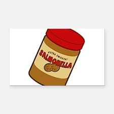 salmonella-peanut-butter.png Rectangle Car Magnet