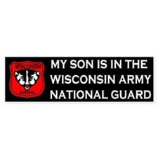 Bumper Sticker: Son In National Guard