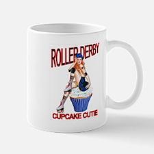 Roller Derby Cupcake Cutie Mug
