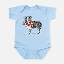 Blue Merle Aussie Infant Bodysuit